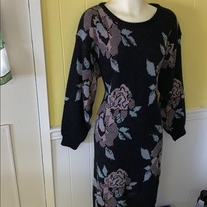 Vintage ,sweater dress